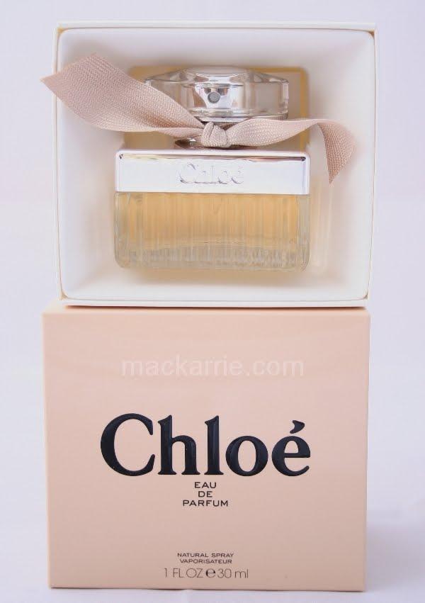 Mackarrie Beauty Style Blog Chloe Eau De Parfum Review