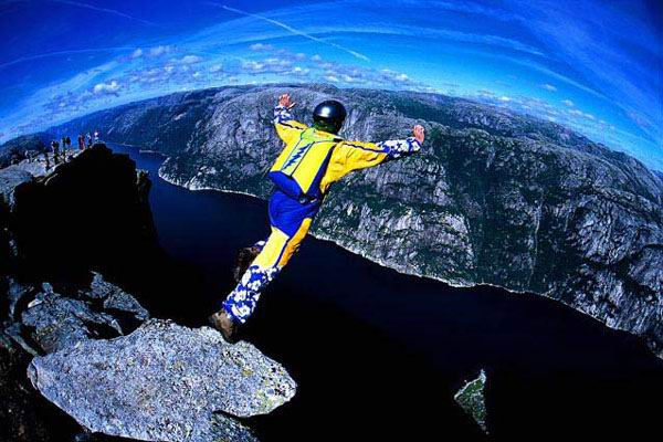 cool wallpapers: BASE jumping wallpapers
