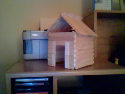 Loop Hobbies Hobby Followup Popsicle Stick House Roof