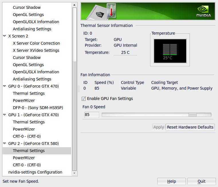Cryptohaze Blog: nVidia fan speed control for headless cards