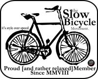 slow cyclist