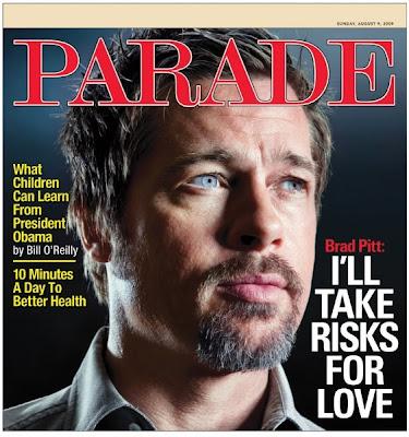 Men's Fashion & Style Aficionado: Brad Pitt on Parade Magazine