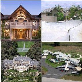 rumah selebriti paling unik dan mewah | rwaksrwaks