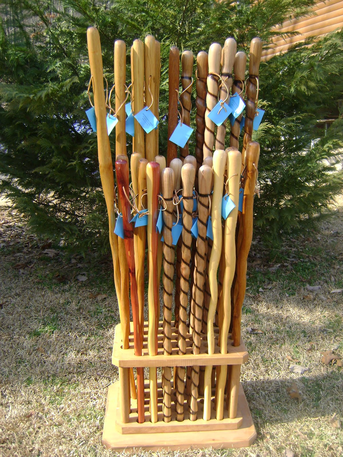 Mountainside Craft Hiking Sticks Hand Crafted Hiking