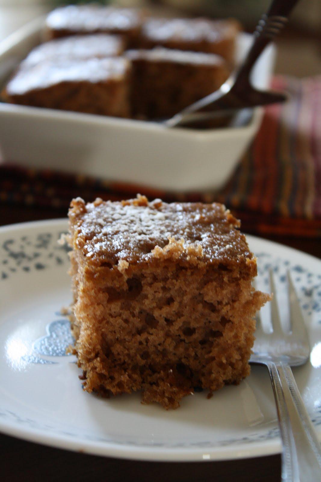 Versatile Vegetarian Kitchen Sourdough Applesauce Spice Cake