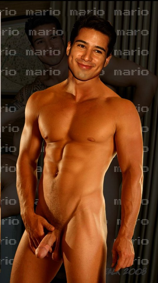 Something is. Mario lopez s cock excellent idea