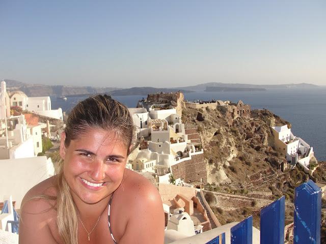 Oia, Grécia.