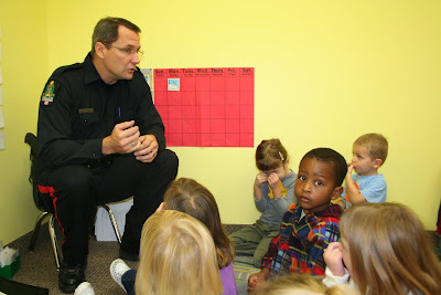 Little Lambs Christian Preschool: Police & Traffic Safety