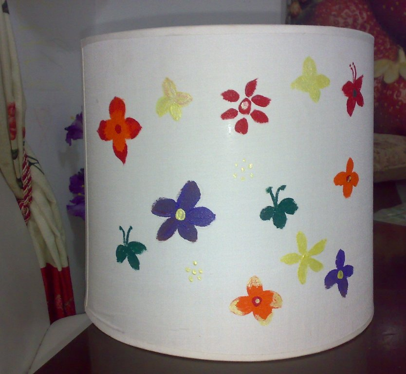 Lamp Shades For Kids Room Fabric Painting