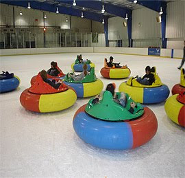 Ice Bumper Cars Skating