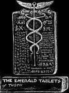 Sun Gods Zodiac Biblical Allegory Meditation Emerald Tablets: The Emerald  tablets of Thoth Alchemy
