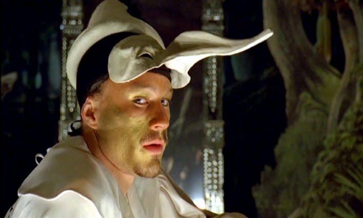 WEIRDLAND: Heath Ledger on the set of Doctor Parnassus