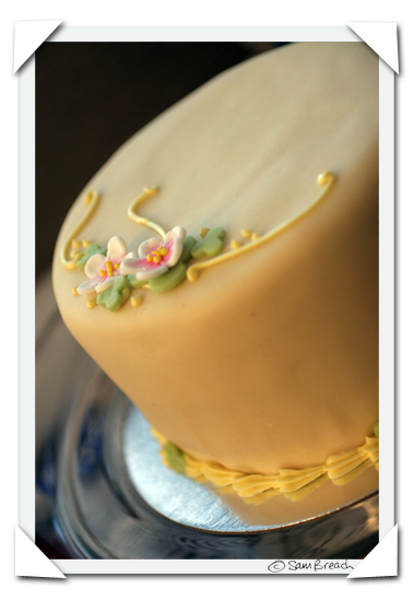 picture photograph almond cake in marzipan bt petite patisserie copyright of sam breach http://becksposhnosh.blogspot.com/