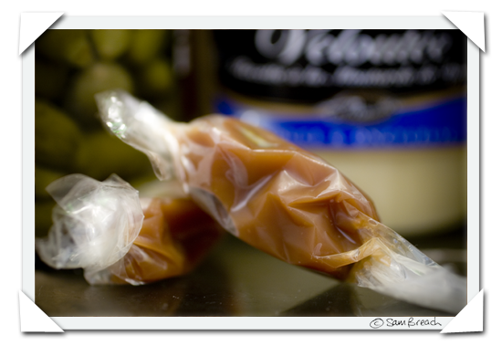 picture photograph  buttery caramels from paris copyright of sam breach http://becksposhnosh.blogspot.com/
