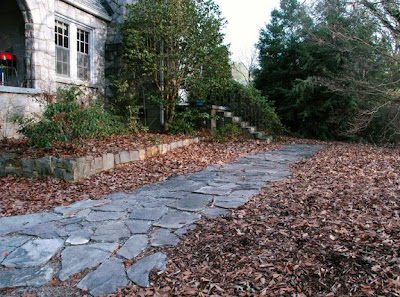 Natural Gardening Laying A Flagstone Path Update