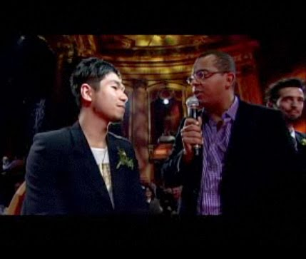 Ben Liu interviewed by Gregory Charles at Forces Avenir Gala, Forces Avenir Gala in Quebec city