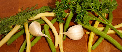 Présentation recette salade de haricots 1
