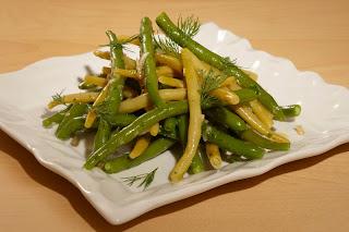 Présentation recette salade de haricots 2