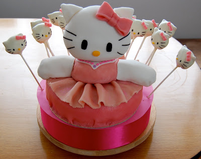 make hello kitty cupcakes