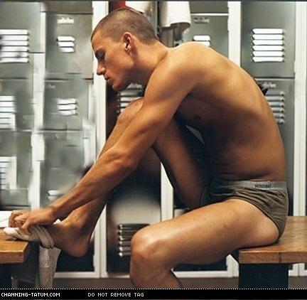 Barefoot Males Channing Tatum