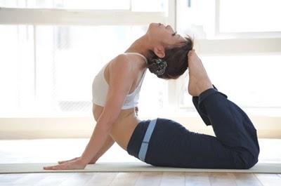 yoga stretches the cobra pose
