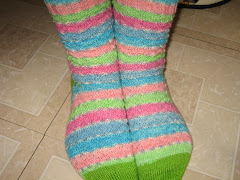 socks I made for my sister
