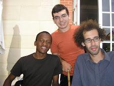 Paiva, Rodrigo e Malek (Cité U)