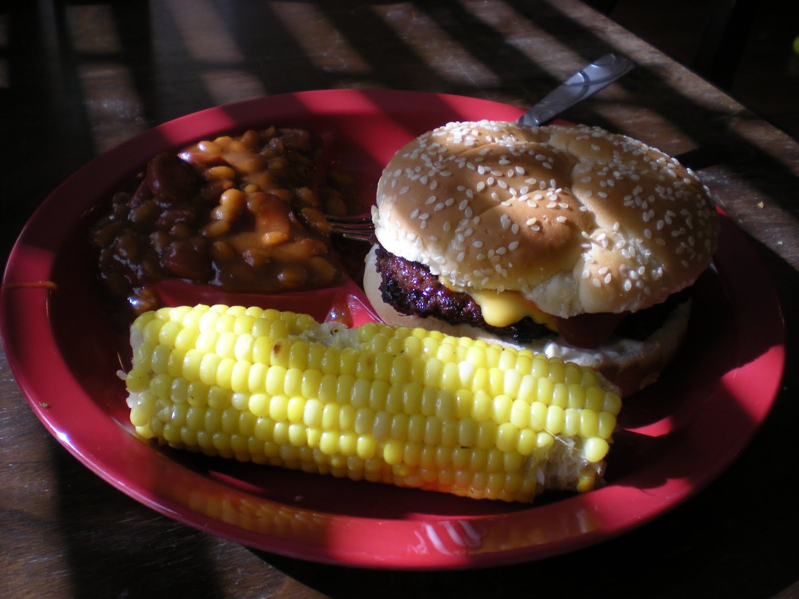 Randi S Recipes Hamburger Quot Baked Quot Beans And Grilled Corn
