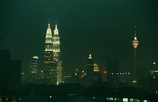 Twin towers and KL Tower