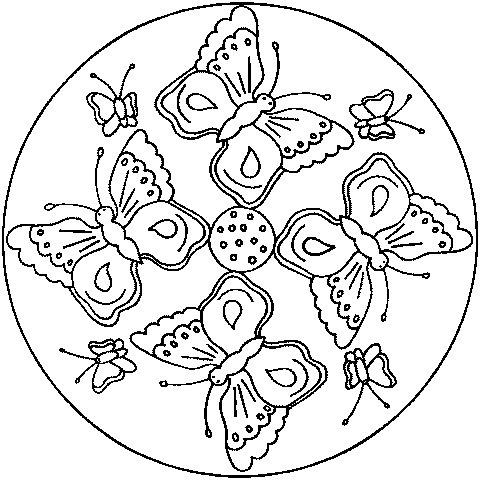 Mandalas Para Pintar Mandalas De Animales
