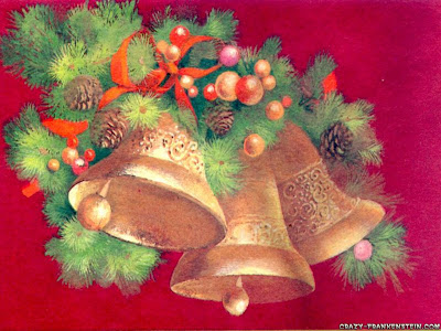 Christmas Bell Wallpaper