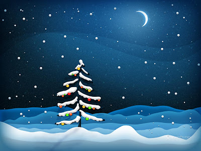 Christmas Night Wallpaper - 1