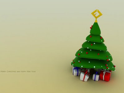 Artificial Christmas Tree Wallpaper