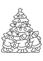 Leuke Kleurplaten Kerst.Informatie Website Mooie Kerst Kleurplaten Voor Kinderen