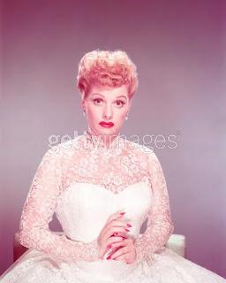 Lucille Ball S Wedding Portrait