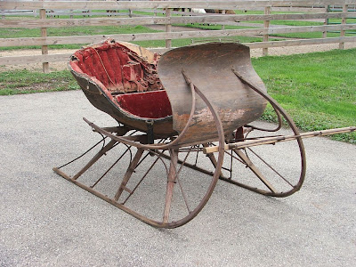 Antique Sleighs Albany Sleigh 4