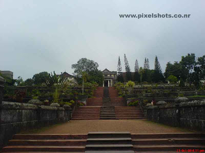 hill palace cochin kerala,steps leading to the hill top where the old palace is situated