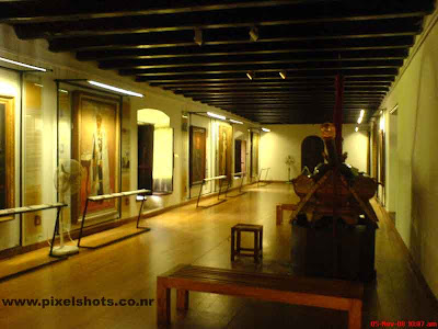 the portrait museum having the paintings of old rajas of cochin kerala from the dutch palace museum of mattancherry kerala india