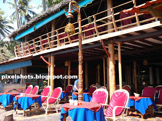 beach side hotels with balcony,beach facing restaurants in kerala,beach hotels with outdoor facility,varkala beach hotels