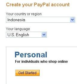 paypal register