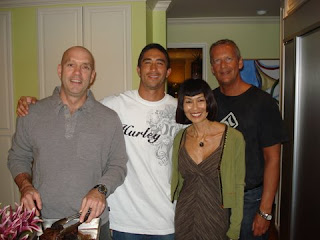 Left to Right: Dean, Keegan Edwards, Yuri, Gordon Naccarato