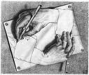 M.C.Escher: Mano dibujando