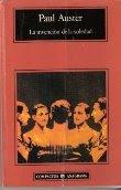 La invención de la Soledad. Paul Auster. Ed. Anagrama