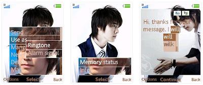 韓國明星李東海@Super Junior手機主題﹝240x320﹞   索愛の手機主題