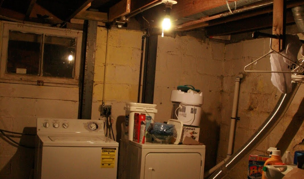 Laundryroom Laundry Room Before & After... Aka: Making The Basement