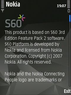 Nokia S60 FP2