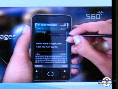 S60 Touchscreen