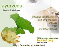 Ayurveda Healing concept