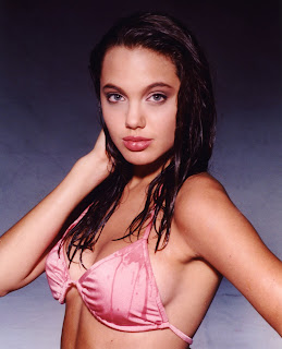 Young Angelina Jolie in Bikini.   Pics Holder Collector of