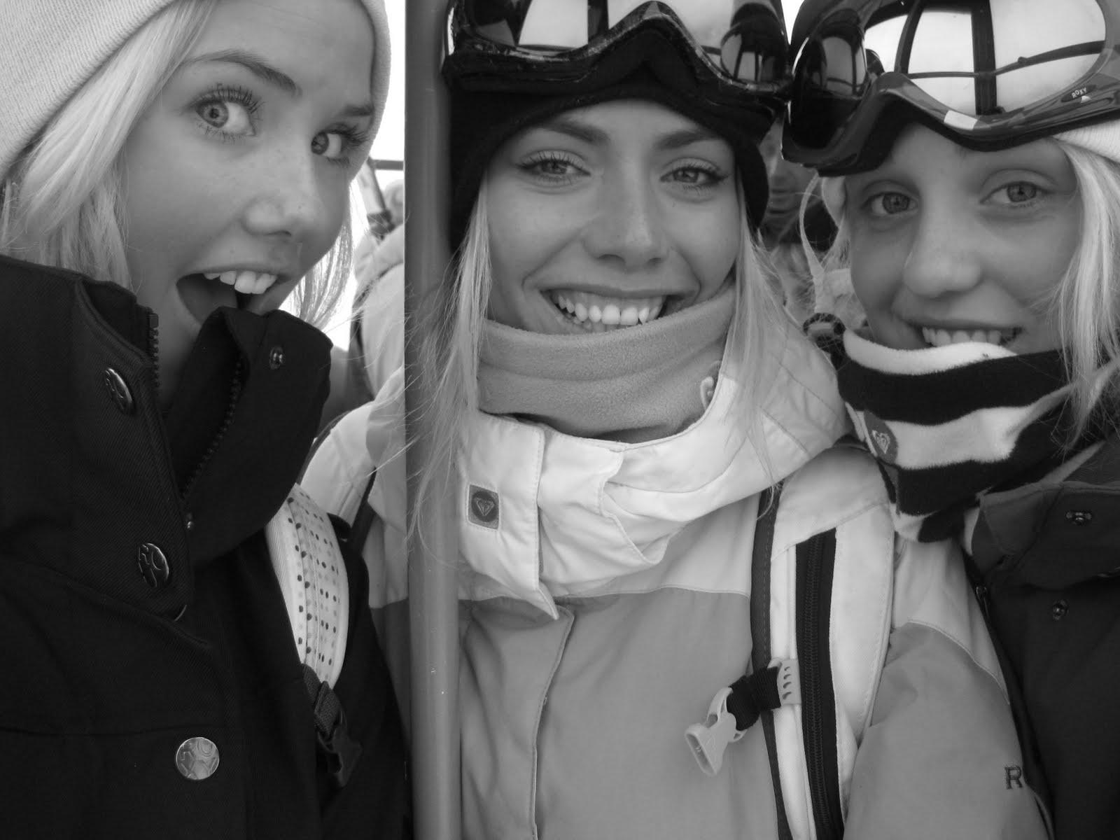 Silje Norendal Norwegian Snowboarder: Saas Fee is great ...  Silje Norendal ...